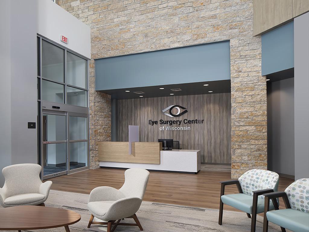 Eye Surgery Center of Wisconsin Lobby